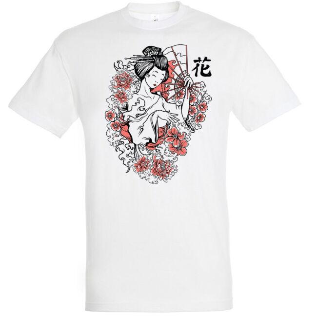 Geisha póló több színben