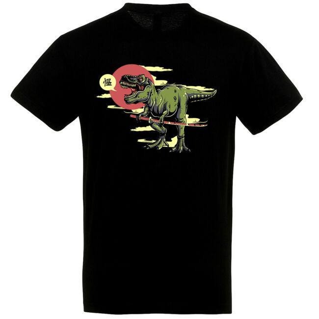 Samurai Rex póló több színben