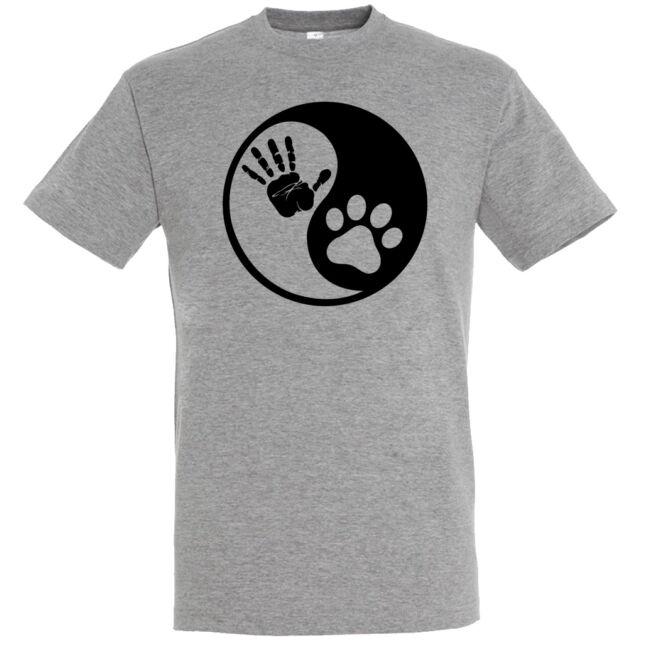 Yin Yang kutyás póló több színben
