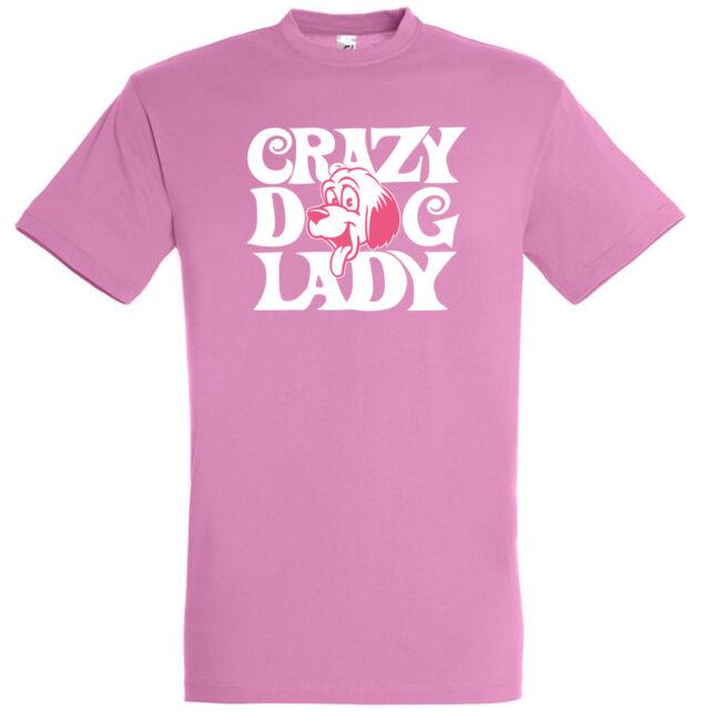 Crazy dog lady póló több színben
