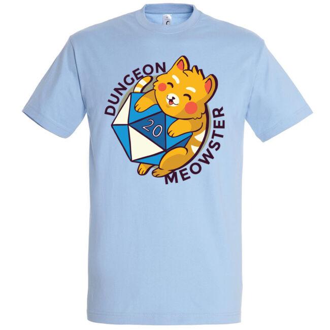 Dungeon Meowster póló több színben