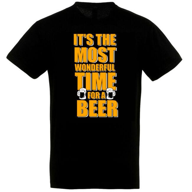 Wonderful time for a beer póló több színben