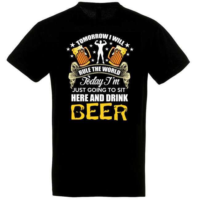 Tomorrow beer póló több színben