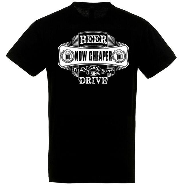 Beer now cheaper póló több színben