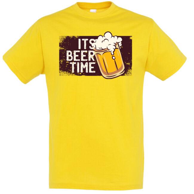 It's beer time póló több színben