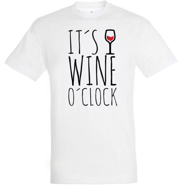 It's wine o'clock póló több színben