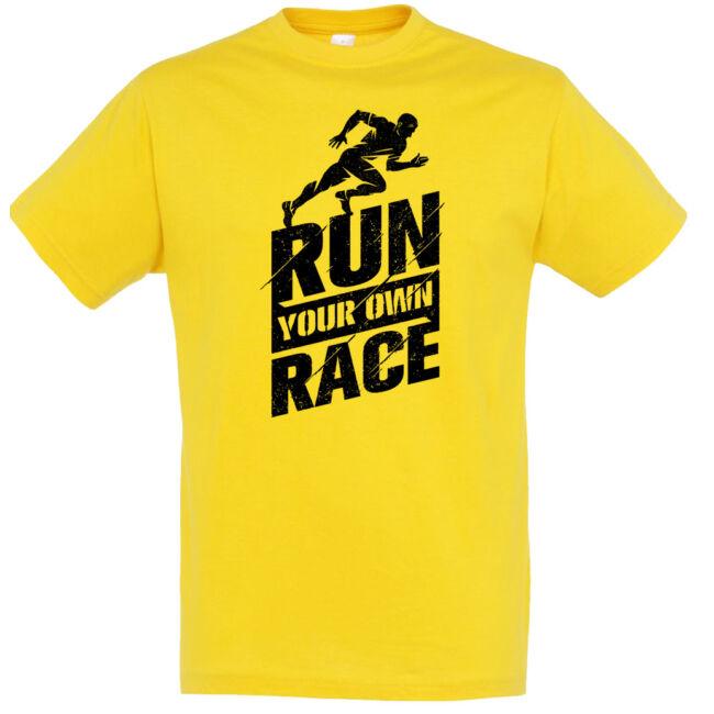 Run your own race futó póló több színben