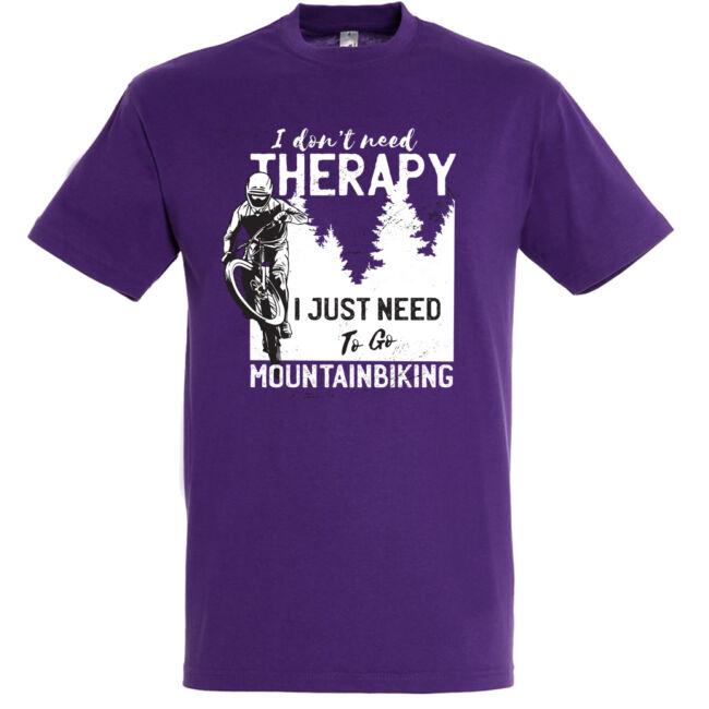Therapy mountain biking póló több színben
