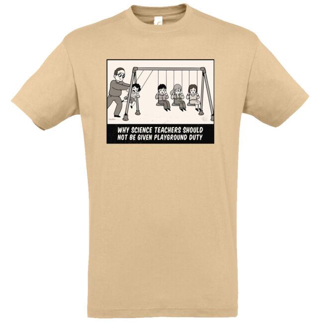 Fizikatanár póló több színben