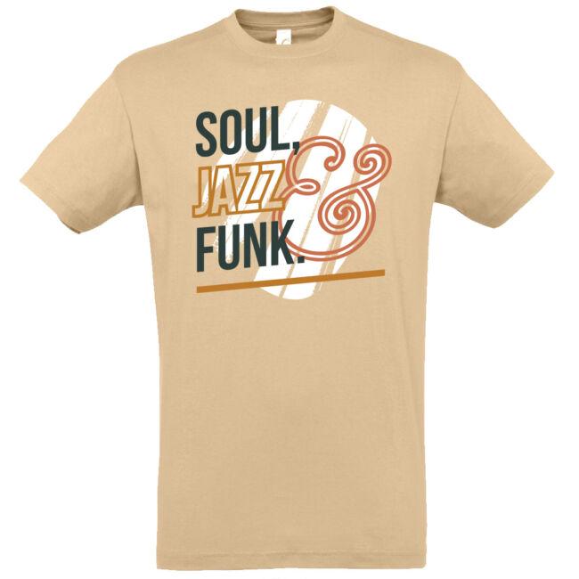 Soul Jazz Funk póló több színben