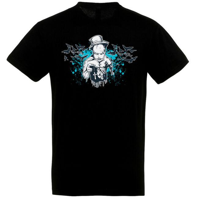 Evil Priest fekete póló