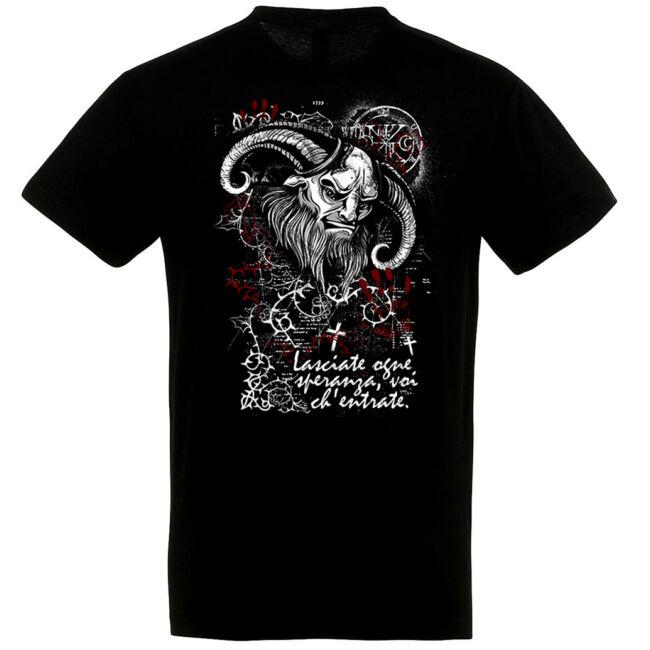 Occult Demon fekete póló