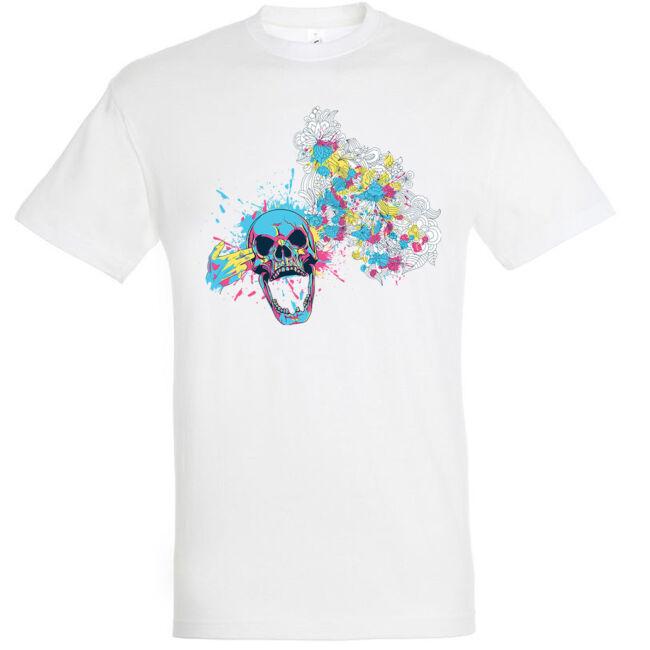 Headshot fehér póló