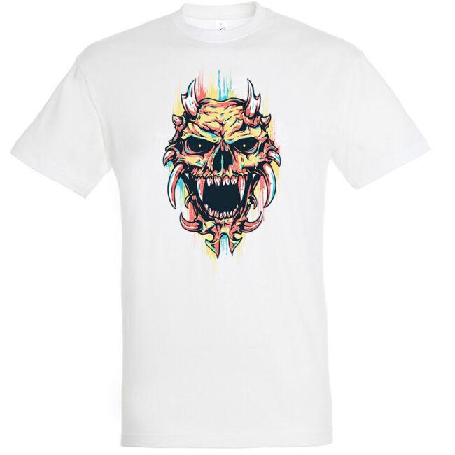 Color demon fehér póló