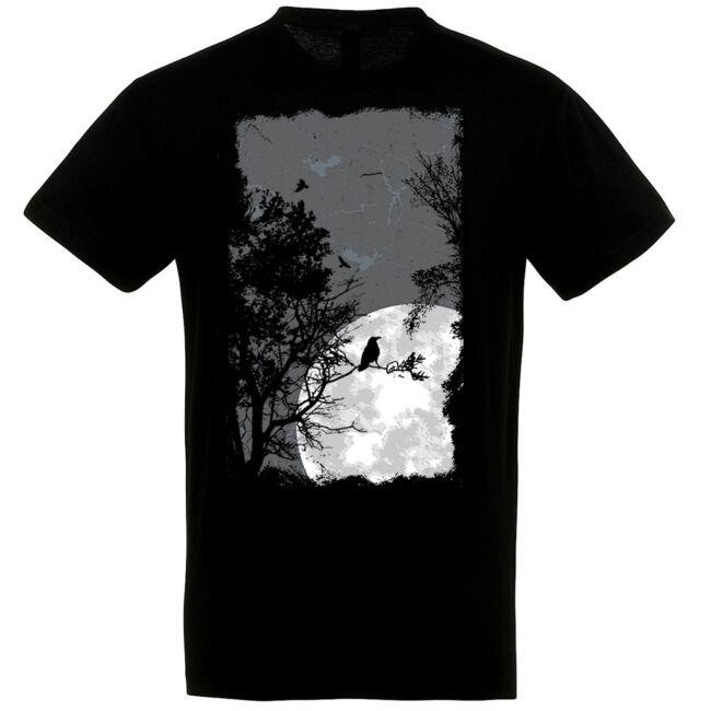 Night Raven fekete póló