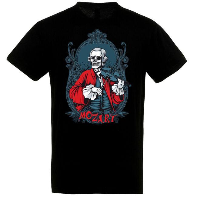 Mozart Horror fekete póló