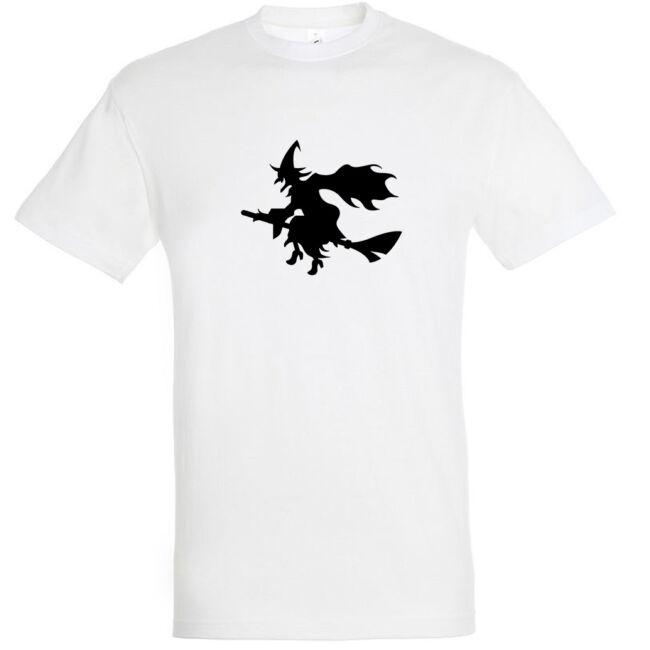Boszorkány mintás Halloween póló