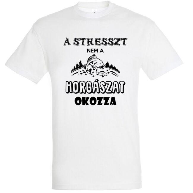 A stresszt nem a horgászat okozza
