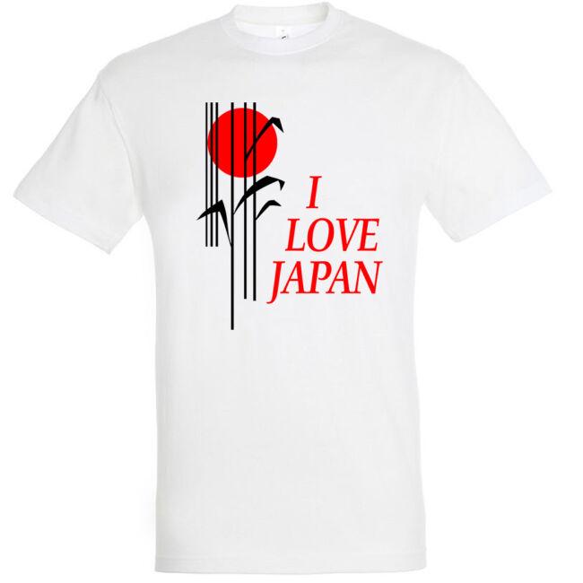 I Love Japan feliratos póló