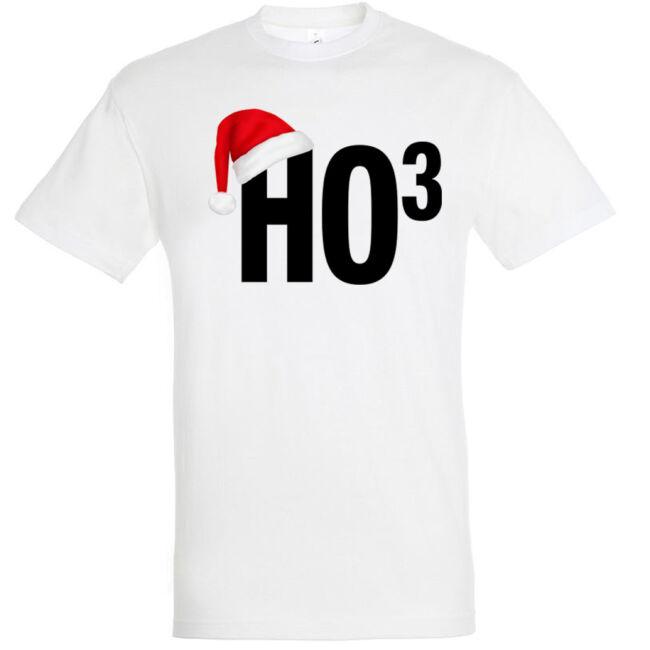 Ho3 fehér férfi póló