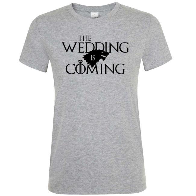 Wedding is Coming lánybúcsú póló