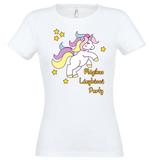 Unikornis mágikus lánybúcsú póló