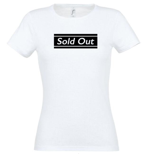 Sold Out póló lánybúcsúra fehér