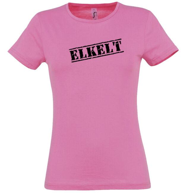 Elkelt póló lánybúcsúra rózsaszín színben