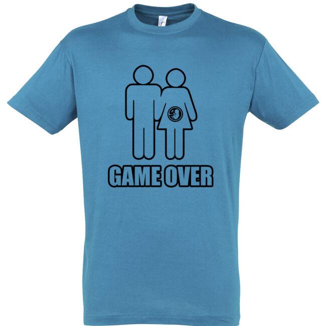Game Over III. legénybúcsú póló aqua