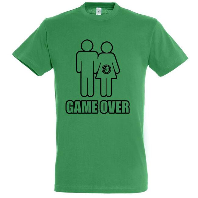 Game Over III. legénybúcsú póló fekete