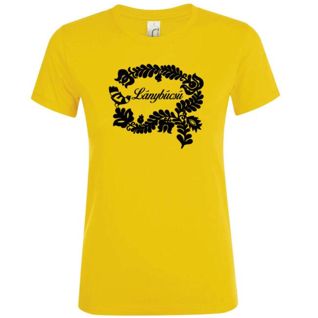 Magyar népmesék lánybúcsú póló arany
