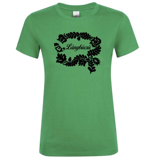 Magyar népmesék lánybúcsú póló kelly green
