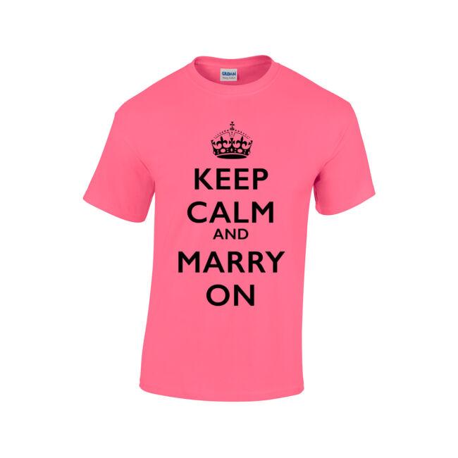 Keep Calm póló lánybúcsúra CSAK XL