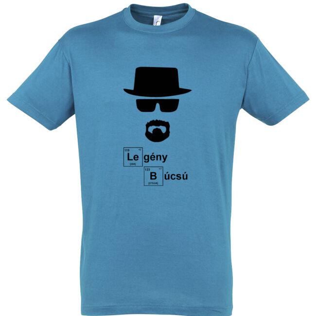Heisenberg legénybúcsú póló aqua