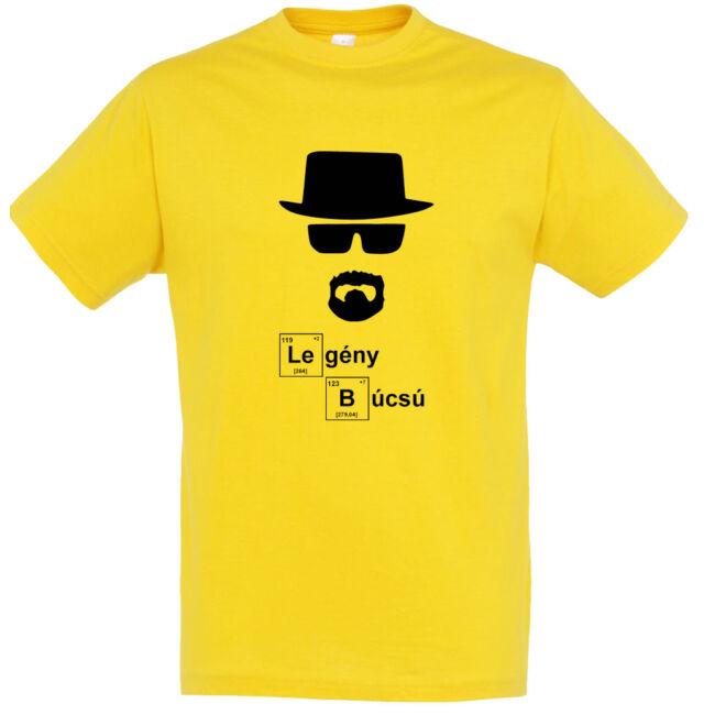 Heisenberg legénybúcsú póló arany