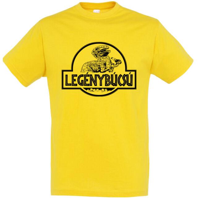 Jurassic Park legénybúcsú póló arany