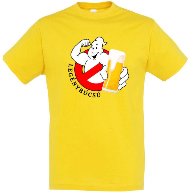 Ghostbusters legénybúcsú póló arany