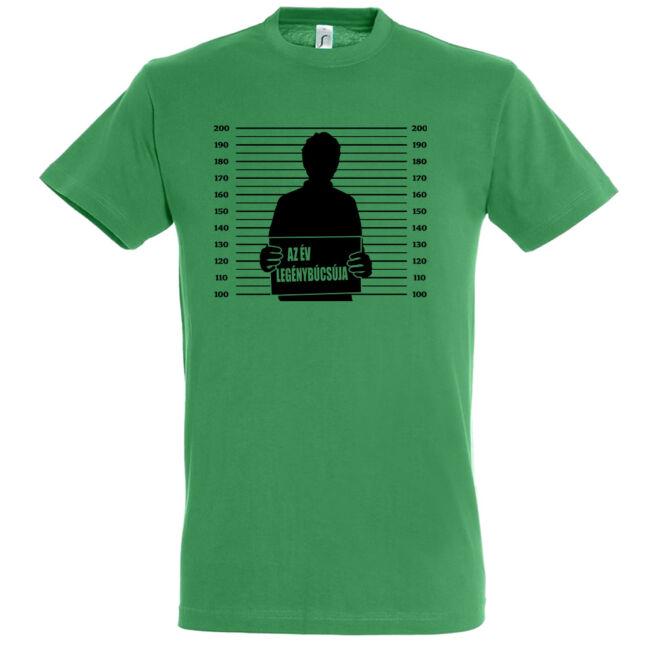 Az év legénybúcsúja póló kelly green