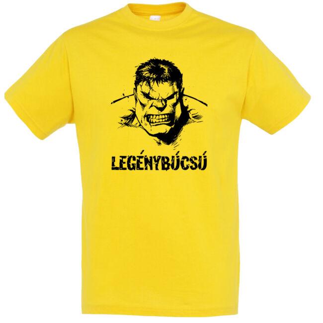 Hulk legénybúcsú póló arany