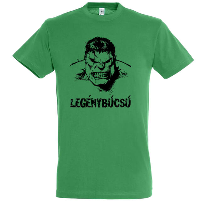 Hulk legénybúcsú póló kelly green