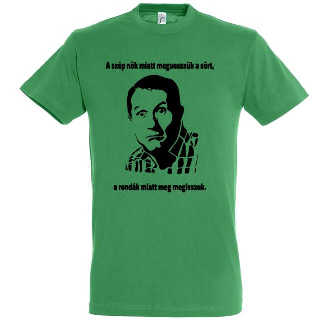 Al Bundy legénybúcsú póló kelly green