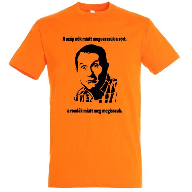 Al Bundy legénybúcsú póló narancssárga