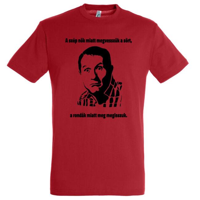 Al Bundy legénybúcsú póló piros