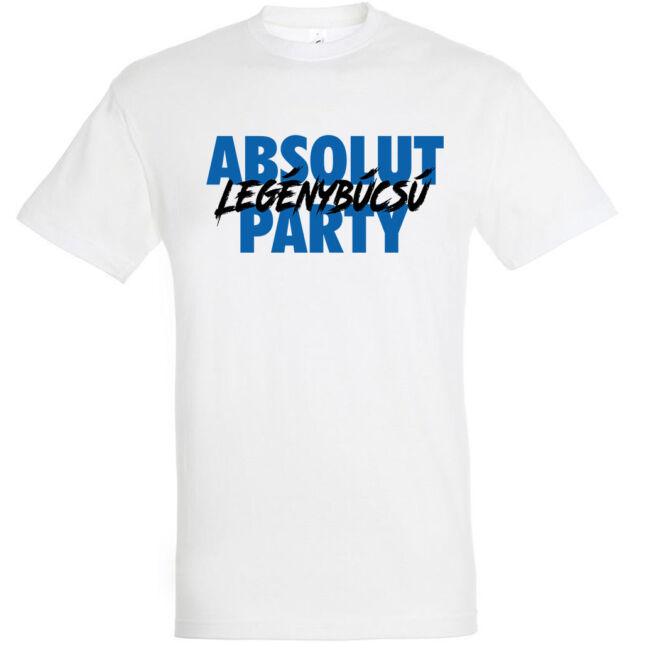 Absolut legénybúcsú party póló több színben