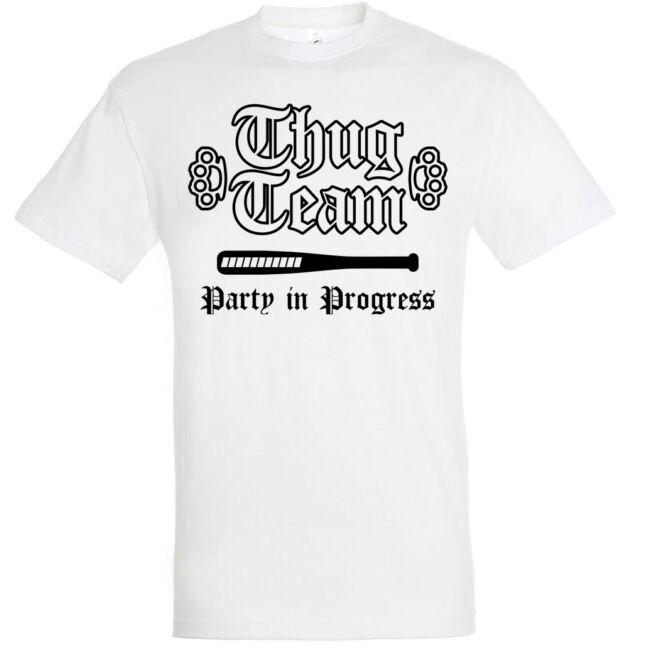 Thug Team legénybúcsú póló több színben