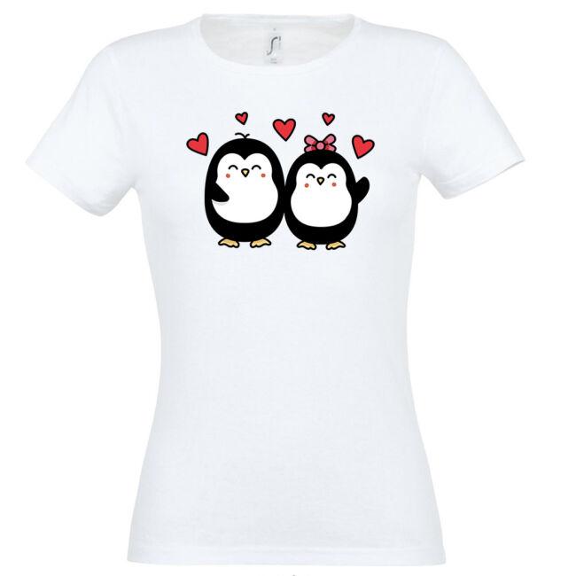Szerelmes pingvinek póló