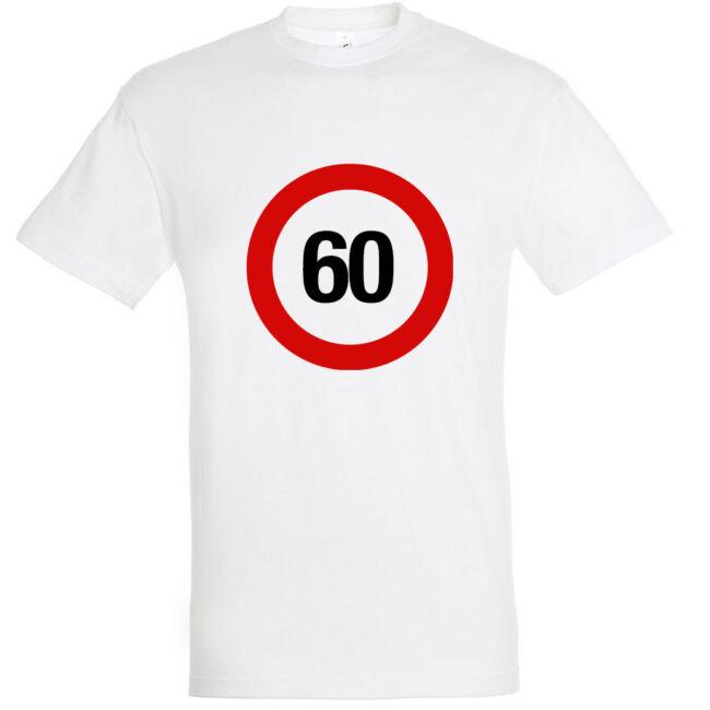 Sebességkorlátozó 60. születésnapi póló