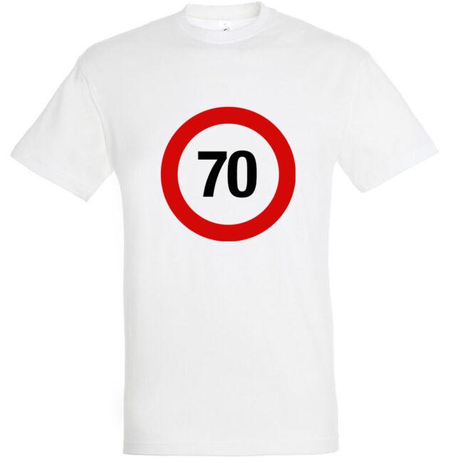 Sebességkorlátozó 70. születésnapi póló
