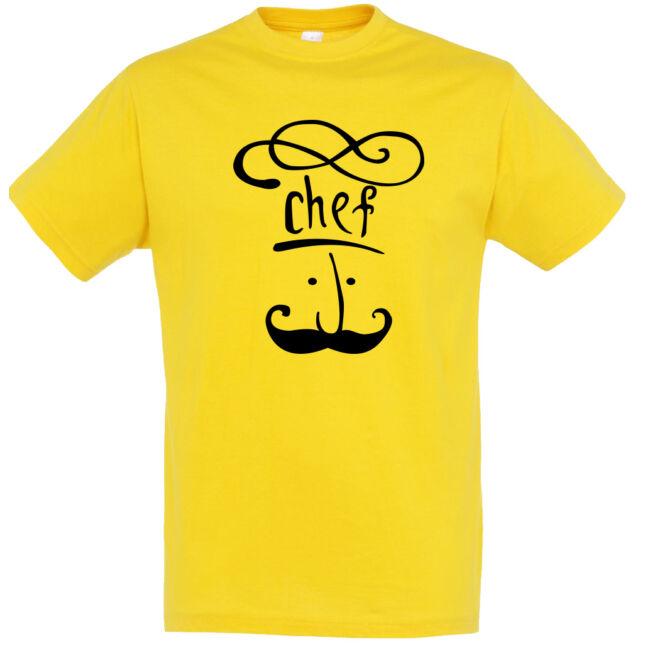 Igazi Chef póló arany színben