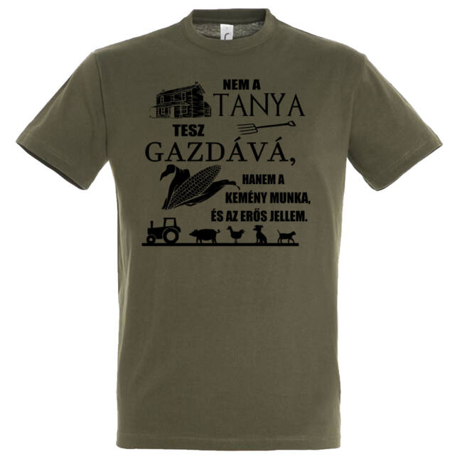 Nem a tanya tesz gazdává póló army